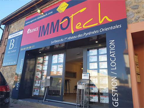 Agence immobilière Immotech Le Boulou, Pyrénées-Orientales 66